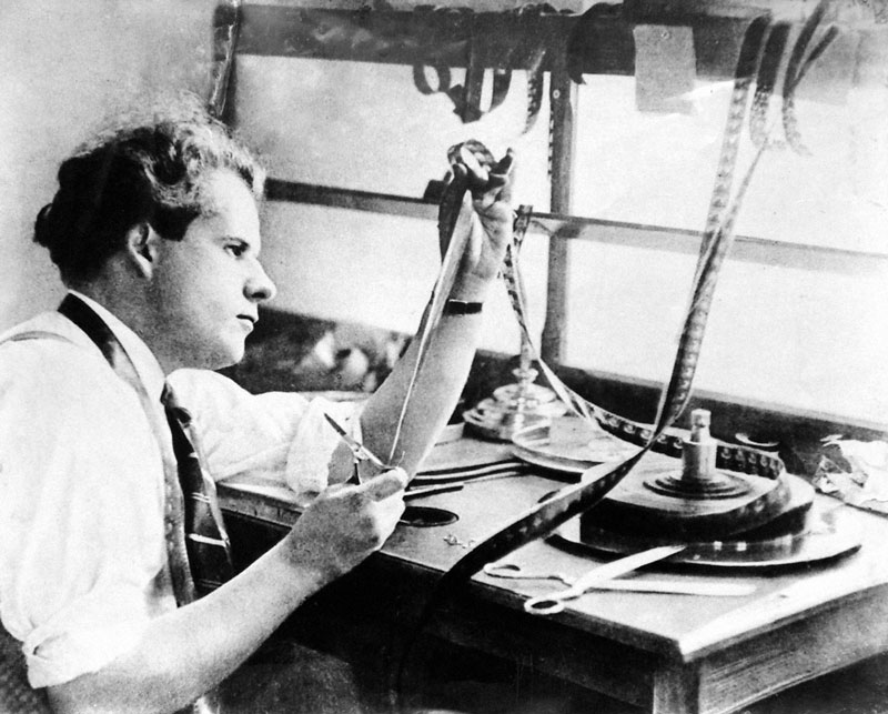 Sergi Eisenstein Editing